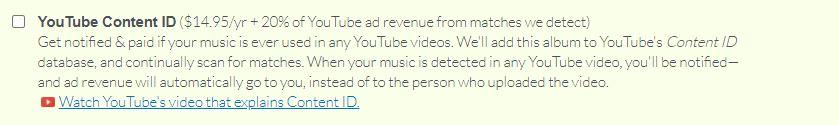 distrokid youtube